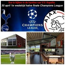 Tottenham Hotspur - Ajax in de kantine