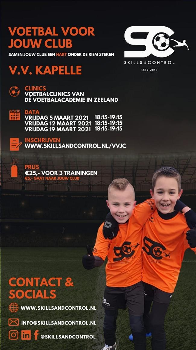Voetbalclinics Skills & Control