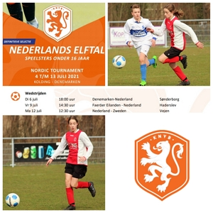Danique Tolhoek in selectie Nederlands Elftal O16